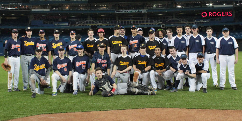 Peel Region All-Stars Baseball at the Rogers Center