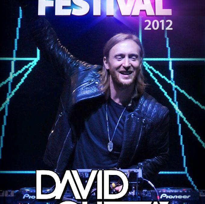 David Guetta iTunes Festival 2012 cover art poster