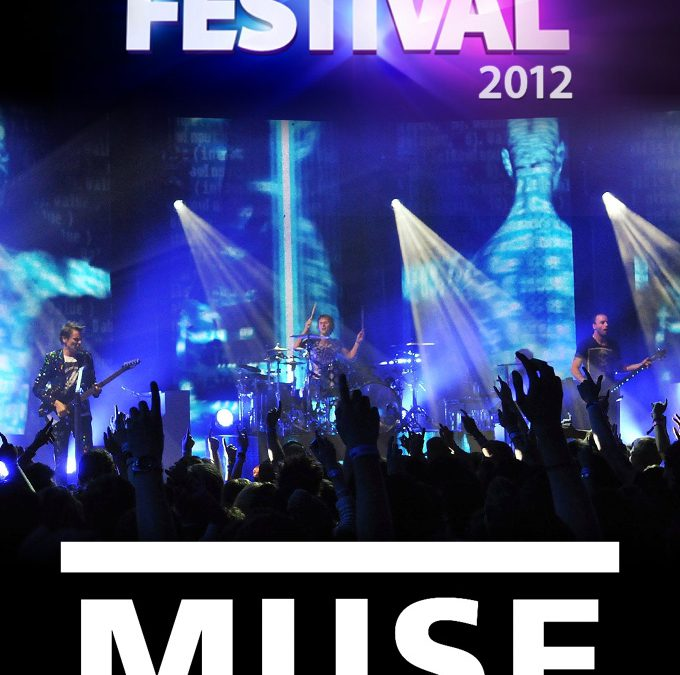 Muse iTunes Festival 2012 cover art poster