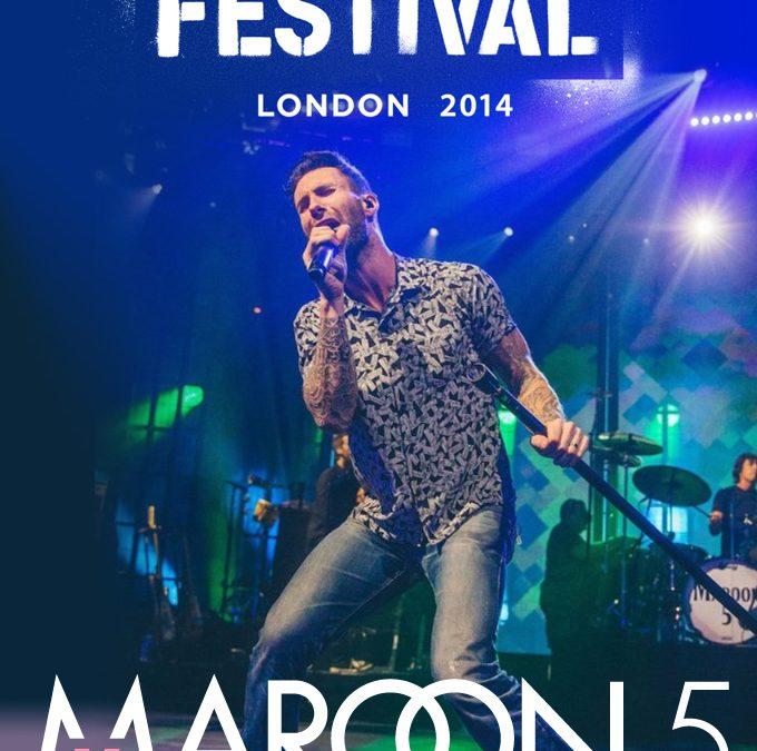 Plex Poster / Cover Art / Maroon 5 at iTunes Festival 2014